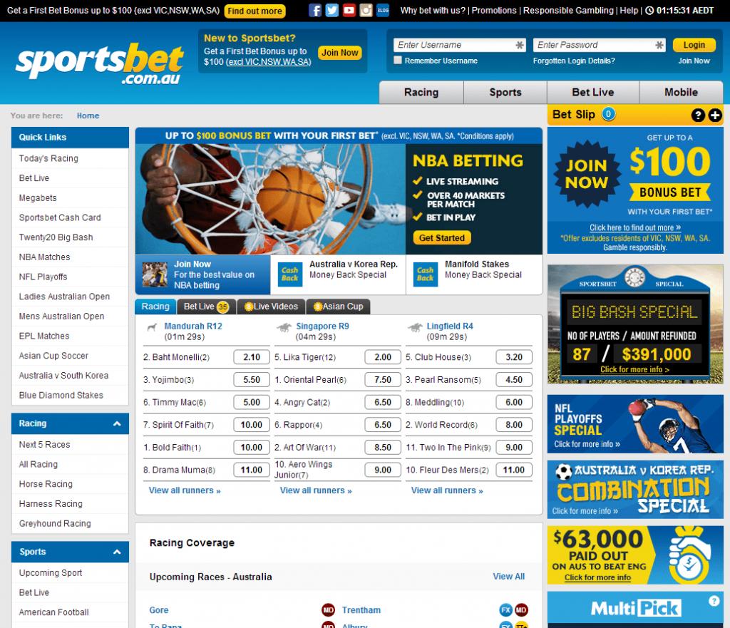 aa89daaa6 Sportsbet NZ Review - FREE  501 NZD Online Mobile Sports Betting Bonus
